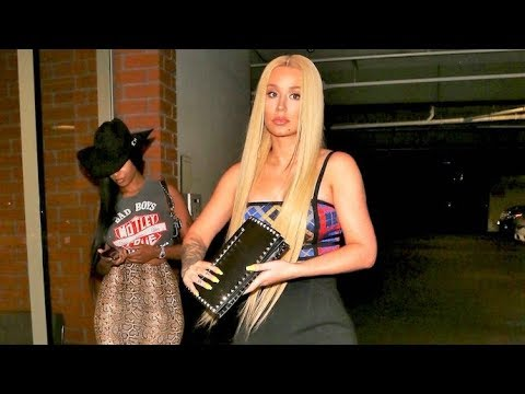 Iggy Azalea Bolts From Cardi B's Party After Bhad Bhabie Throws Drink In Her Face!