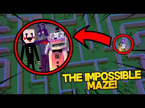 The Impossible Maze!- Minecraft FNAF Roleplay