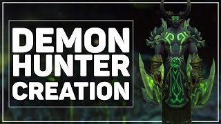 WoW Legion Beta: Demon Hunter Character Creation