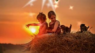 Van Morrison THESE ARE THE DAYS Extended Special Video LYRICS Sunning Images HD