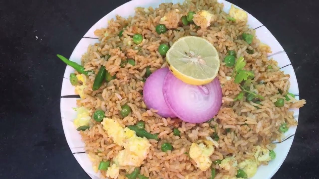 How to make egg fried rice in hindi at home youtube how to make egg fried rice in hindi at home ccuart Images