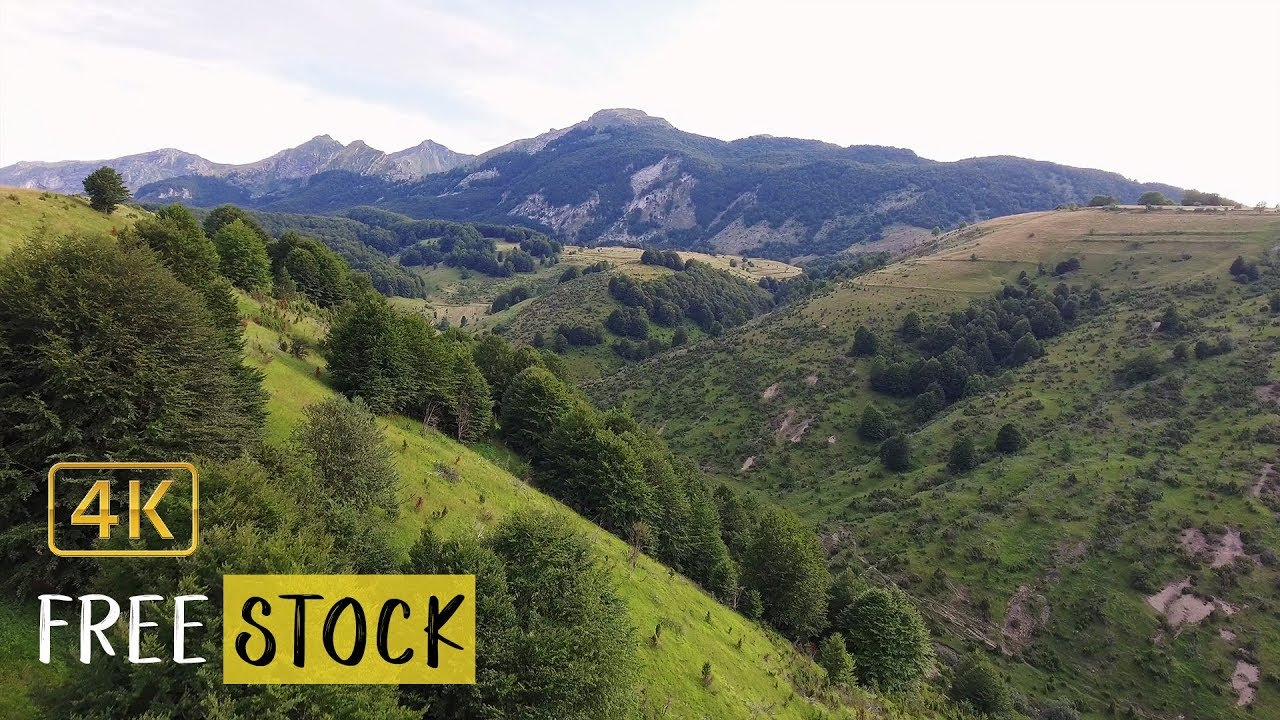 Bosnian Highlands [4K] | Free Drone Footage