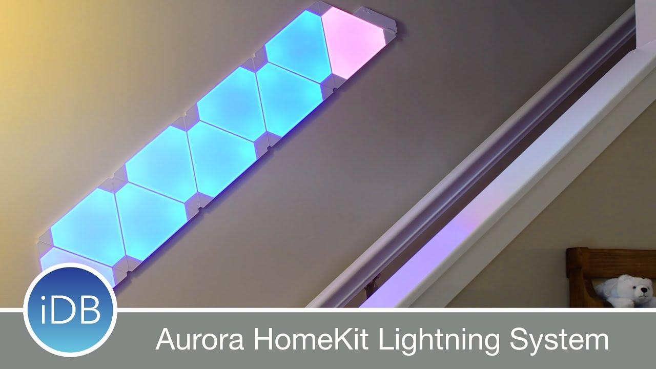 Nanoleaf Aurora Homekit Lighting System