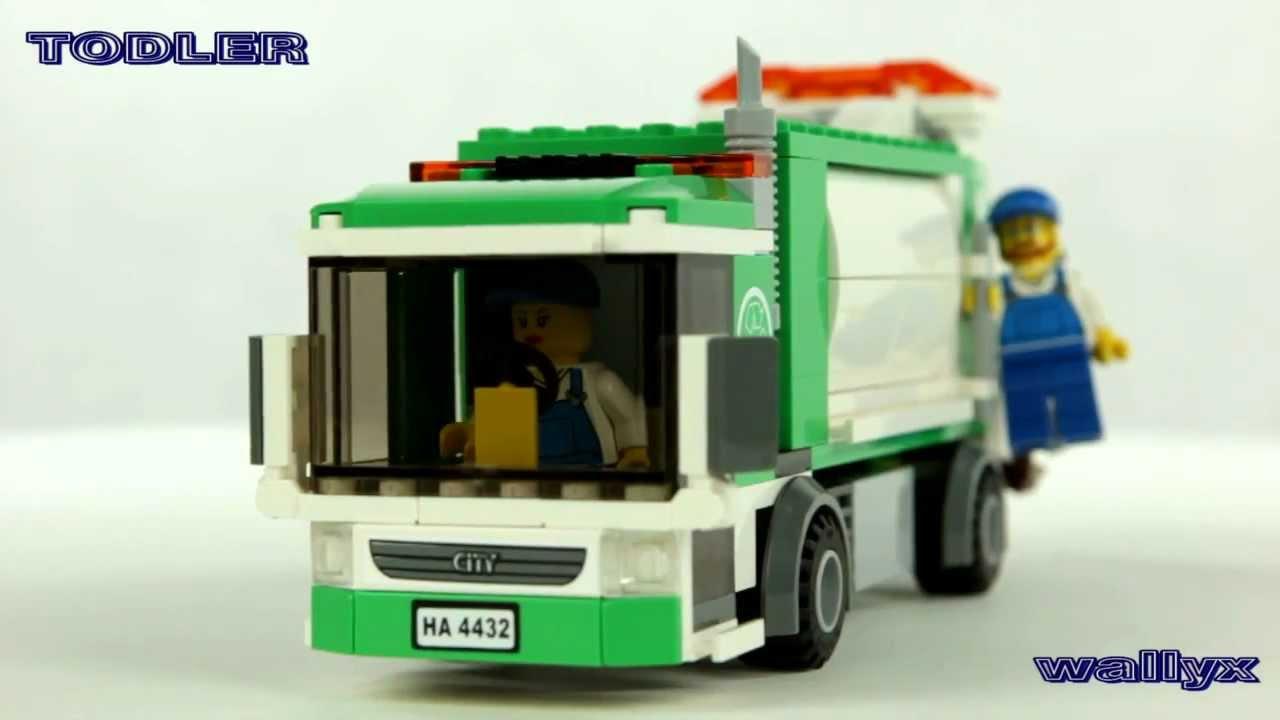 Lego City 4432 śmieciarka Youtube