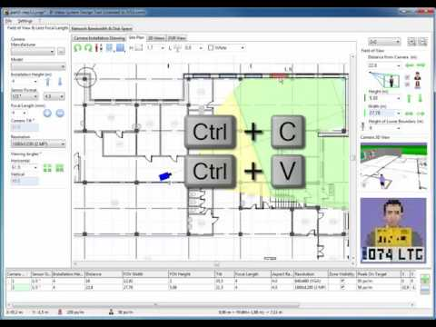 Cctv System Design Part 3 5 Site Plan And Finding Optimal Camera Locations Youtube