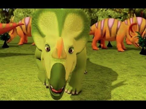 Поезд динозавров Джек Эйниозавр Мультфильм для детей про динозавров