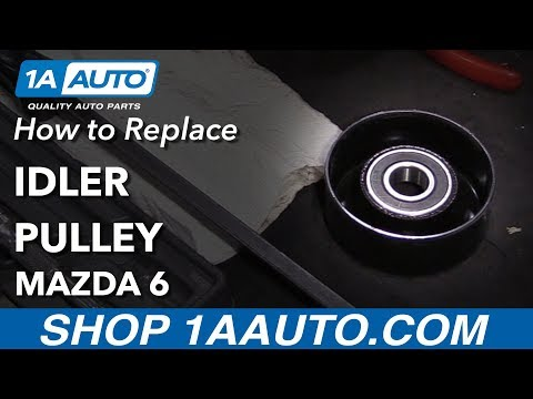 How to Replace Idler Pulley 2007 Mazda 6