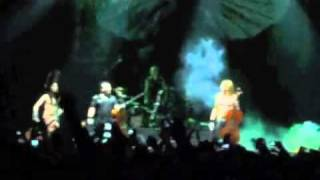 Apocalyptica - Hall of the Mountain King - January 22nd 2012 - Bogota, Colombia