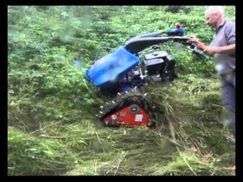 motocoltivatore motofalciatrice bcs con cingoli versione