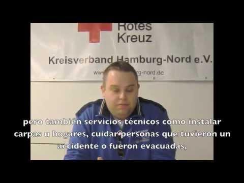 Entrevista con la Cruz Roja Alemana - Kreisverband Hamburg-Nord e.V