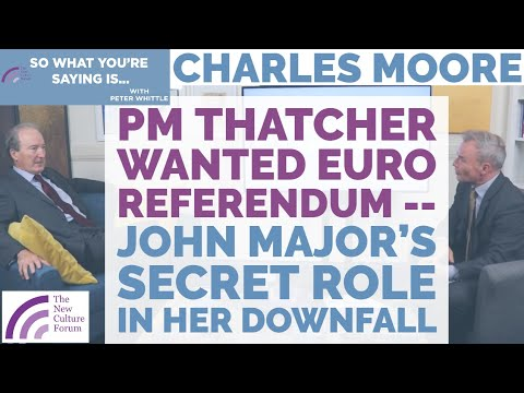 PM Thatcher Wanted Euro Referendum -- John Major's Secret Role In Thatcher's Downfall