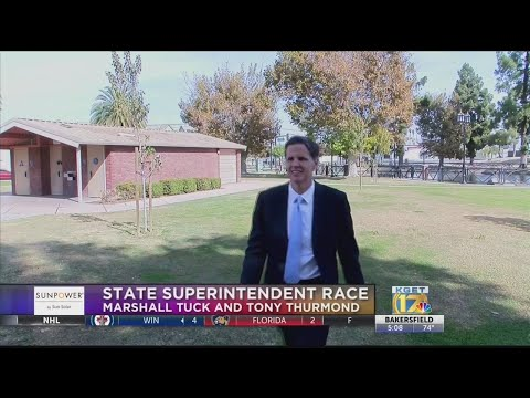 Marshall Tuck, Candidate For State Superintendent Of Public Instruction, Visits Bakersfield