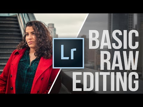RAW Photo Editing for BEGINNERS: Lightroom CC Tutorial thumbnail
