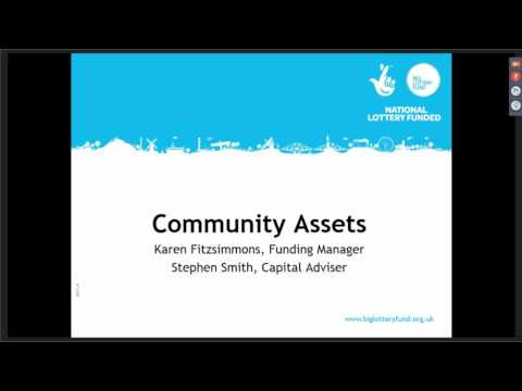 Webinar - Big Lottery Fund: Community Assets and the Scottis