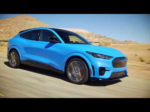 2021 Ford Mustang Mach-e See It On The Road