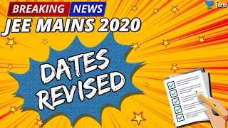 Breaking News   JEE Main Dates Extended   JEE Mains April 2020   Official NTA Update   Unacademy JEE