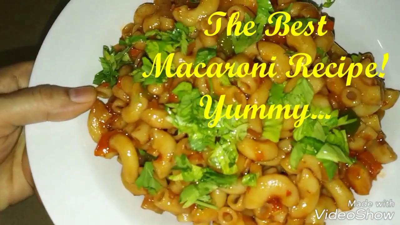 berbagi  menurut munand  memasak makaroni Resepi Macaroni Goreng Sinar Kehidupanku Enak dan Mudah