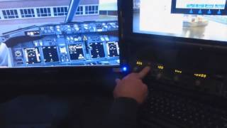 DAVE GOAIR 07 FLIGHT SIM RIG AND FLIGHT BOX SETUP