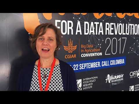 Robin Lougee on the CGIAR Big Data in Agriculture Convention