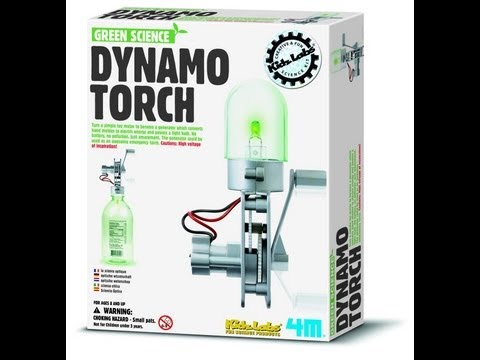 Green Science - Dynamo Torch (assembly)