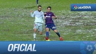Juego trabado en el SD Eibar - Atlético de Madrid, por el mal estado del campo en Ipurúa