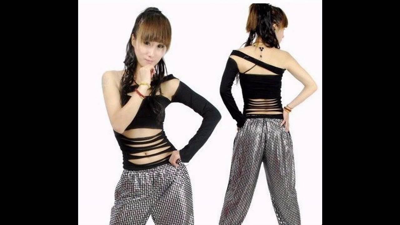 d3c16ddd2efde Outfits de moda para bailar hip hop - YouTube