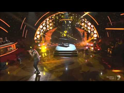 Guy Sebastian performing Like a Drum on 2013 Dancing with the Stars!