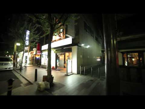 A walk down Kiyamachidori Nighlife district of Kyoto