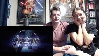 Marvel Studios' Avengers: Endgame - Official Trailer #2 Reaction!!!
