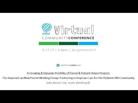 ICN Virtual Community Conference (Spring 2017): Parent Working Group