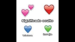 Significado oculto dos emojis de coração