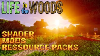 Minecraft | Shader Mods Ressource Packs Server | Infovideo German Deutsch thumbnail