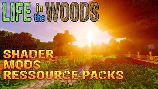 Minecraft | Shader Mods Ressource Packs Server | Infovideo German Deutsch thumbnail