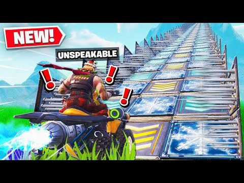 IMPOSSIBLE FORTNITE DEATHRUN RAMP!
