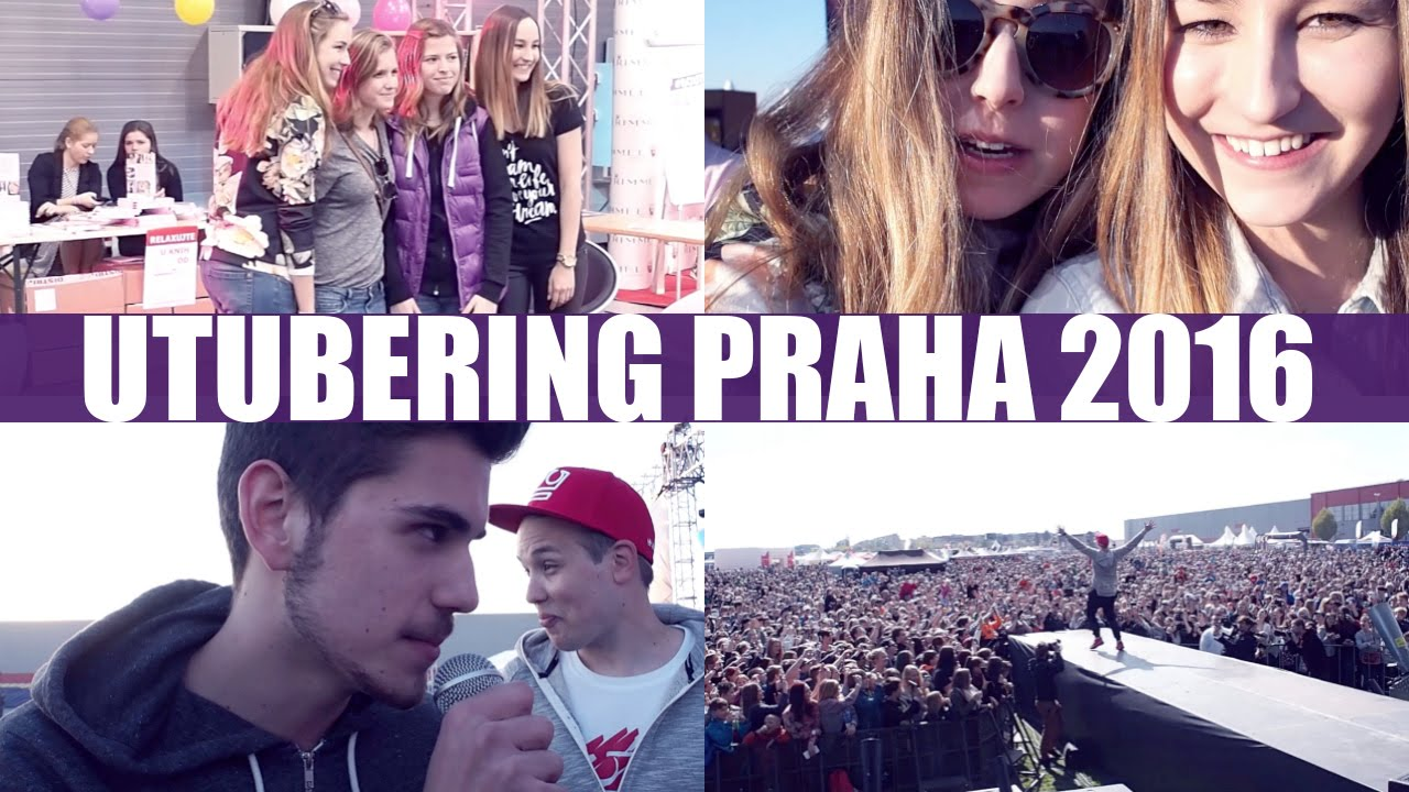 VLOG | Utubering v Praze!
