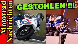 MOTORRÄDER von GUY MARTIN + HUTCHY GESTOHLEN | ZX-10RR SCHNELLER als MotoGP | Motorrad Nachrichten