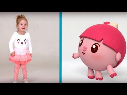 Разминка- МАЛЫШАРИКИ: Умные песенки - теремок тв: песенки для детей