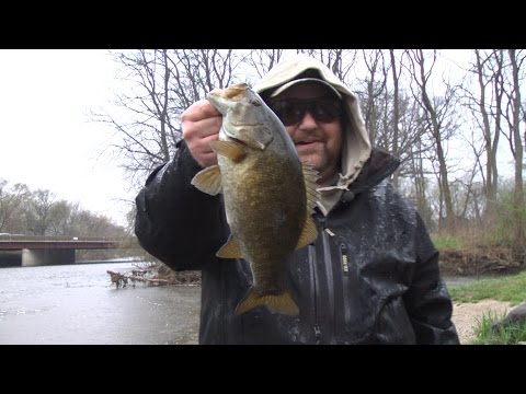 DuPage River SmallMouth Bass