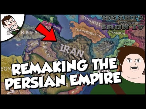 Remaking the Persian Empire as Iran on Modern Day Mod Hearts of Iron 4 hoi4
