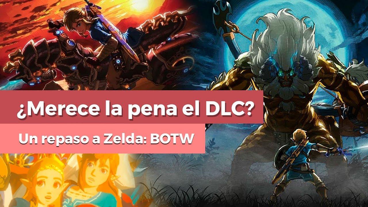 Comprar El Dlc De Zelda Breath Of The Wild Para Nintendo Switch O Wii U Repasamos Su Contenido