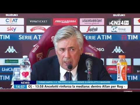 Torino-Napoli 1-3, conferenza stampa post-partita Carlo Ancelotti