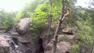Cliff Jumping: Fawns Leap