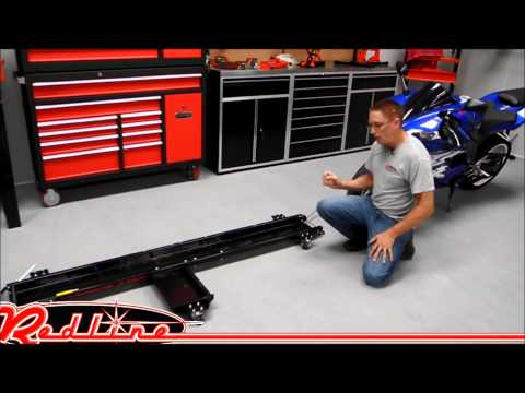 Redline Engineering Drive On Motorcycle Dolly