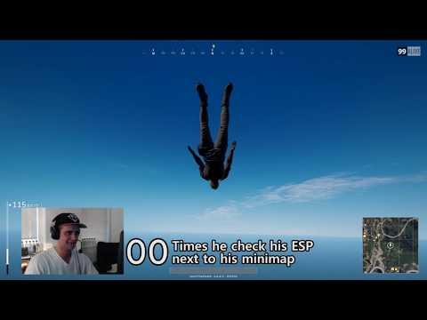 PUBG TheFareoh ESP cheat while streaming