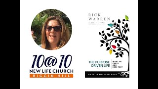 10@10 - The Purpose Driven Life - Day 16 - Tracy Lewis