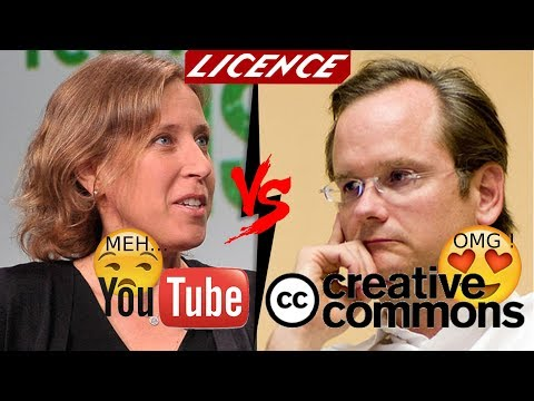 Licence Youtube Standard VS Creative Commons [FR]