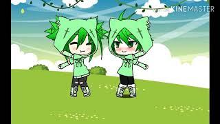 Клип||• Зелёный няша крипер ♥ Gacha life ♥