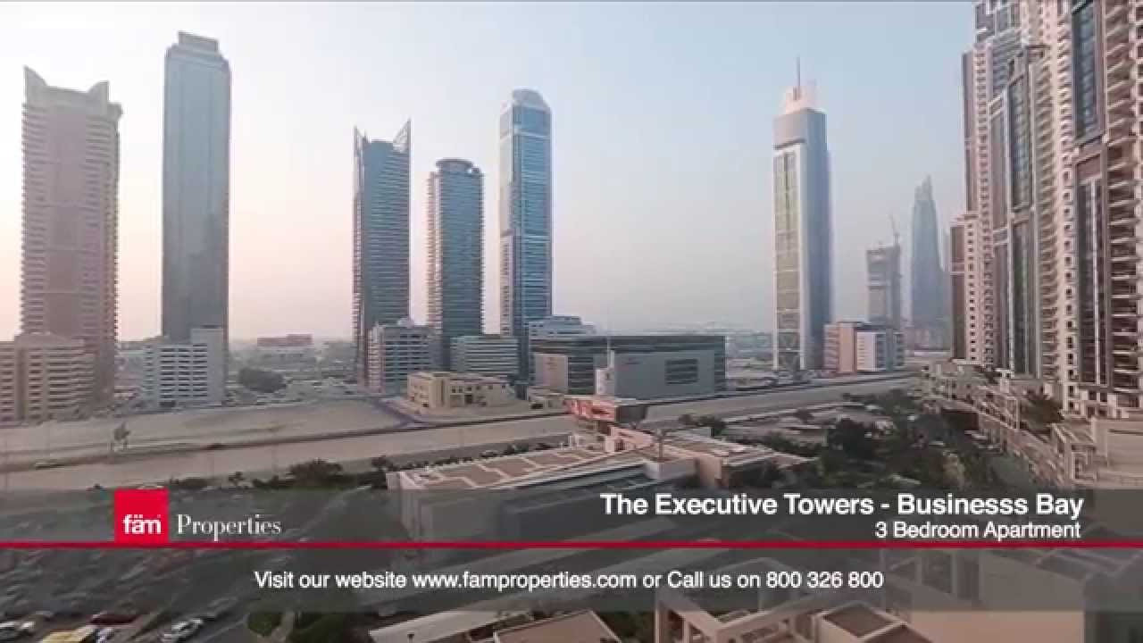 Business bay executive tower h 3 bedroom apartment for - Dubai 3 bedroom apartments for rent ...
