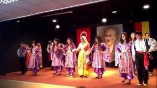 DORTMUND 29 Ekim 2012 CUMHURİYET BAYRAMI FOLKLOR 2. BÖLÜM GÖSTERİSİ KEREM HAZAR