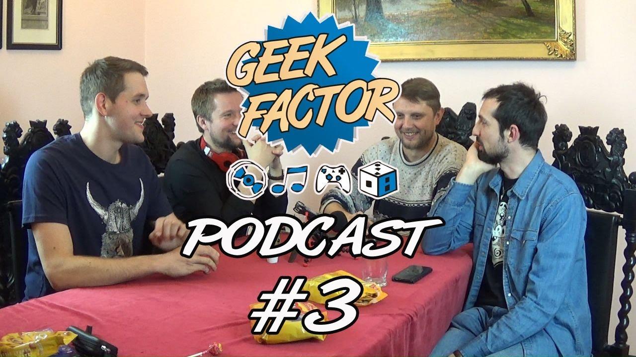 Geek Factor Podcast #3 – Czy recenzenci chcą ze sobą pracować? [+16]